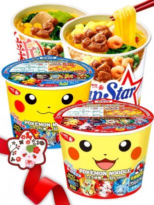 JaponShop Oso Kumamon Box Ramen Cake Roll | Top Hits Gift Selection