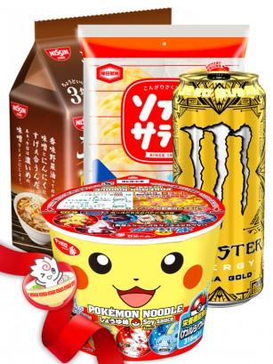 JaponShop Star Box Ramen | Top Hits Gift Selection