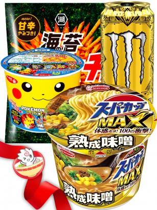 JaponShop Pokemon Star Box Ramen | Top Hits Gift Selection