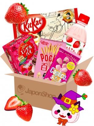 JAPONSHOP Caja Sorpresa Love Fresa | Pedido GRATIS!