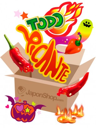 "Caja Sorpresa Halloween ""TODO PICANTE""  | Pedido GRATIS!"