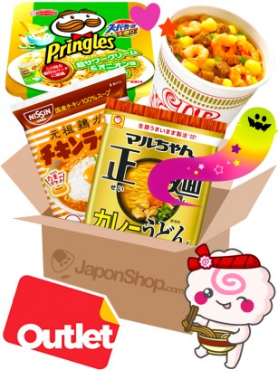 JAPONSHOP TREAT Outlet Ramen Caja Sorpresa | Pedido GRATIS!