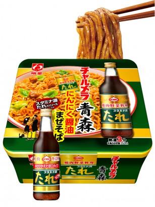 Fideos Yakisoba Chamera con Cerdo y Salsa Aomori 111 grs.