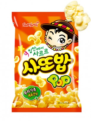 Snack Coreano de Palomitas Dulces 67 grs.