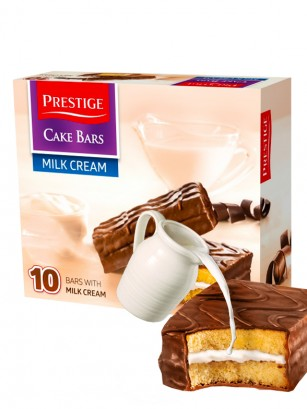 Bizcochos rellenos de Leche y recubiertos de Chocolate 300 grs.