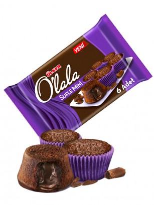 Mini Cupcakes Sufle de Chocolate rellenos Crema de Cacao162 grs