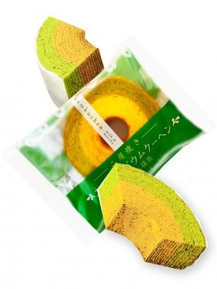 Cake Roll Mil Capas de Té Matcha 65 grs.