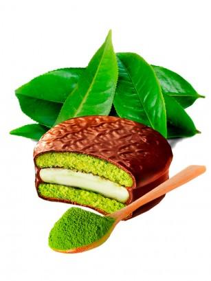 Choco Pie relleno de Crema de Te Verde | Unidad 36 grs.
