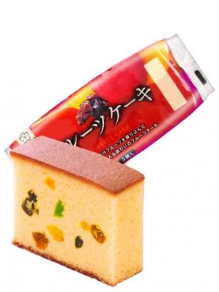 Cake Castella Japonés de Frutas de Hokkaido | 5 Porciones