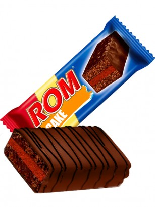Pastelito de Chocolate con Crema de Ron 35 grs | Edición Limitada