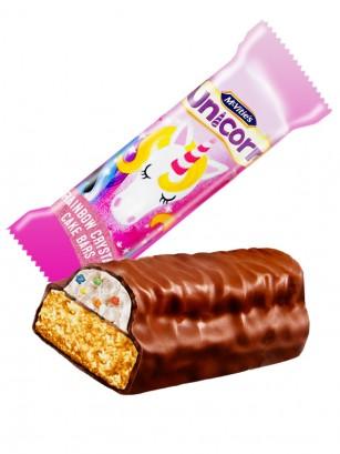 Bizcocho Unicornio con Nata Cubierto de Chocolate | 24 grs. | Pedido GRATIS!