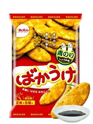 Galletas de Arroz Senbei Kuriyama Bakauke Aonori 118 grs.