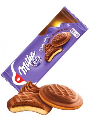 Pastelitos Jaffa Milka y Mousse de Chocolate 128 grs