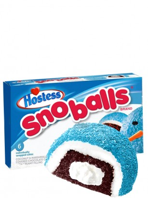 Twinkies SnoBalls Zombi Blue con Coco, Marshmallow, Chocolate y Crema  | Family Box