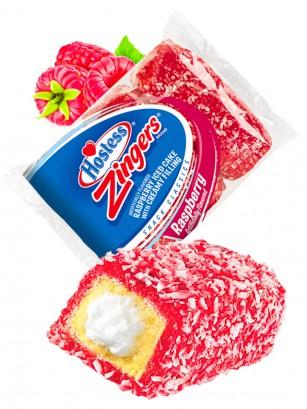 Pasteles Twinkie de Frambuesa y Crema | Zingers | 3 Unidades