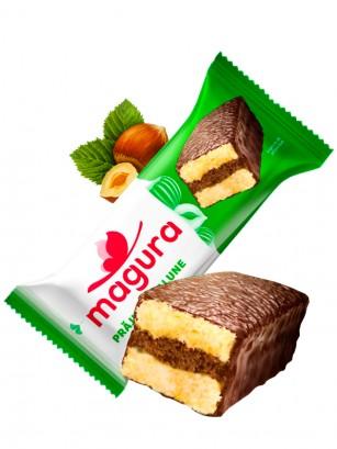 Pastelito de Chocolate con Crema de Avellanas 35 grs.