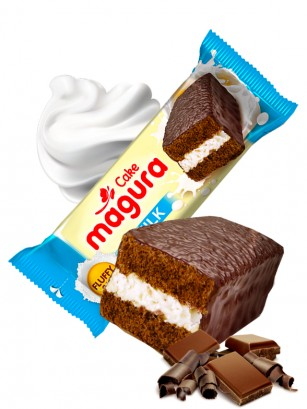 Pastelito de Chocolate con Crema de Leche 35 grs