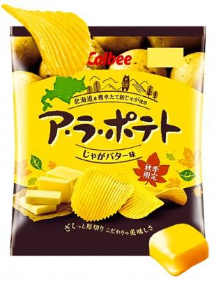Patatas Calbee con Mantequilla de Hokkaido | 72 grs.