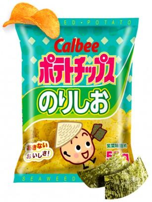 Patatas Chips Calbee con Alga Nori Tostada