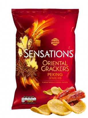 Crackers Walkers Sensations Costillas de Cerdo Pekín 110 grs