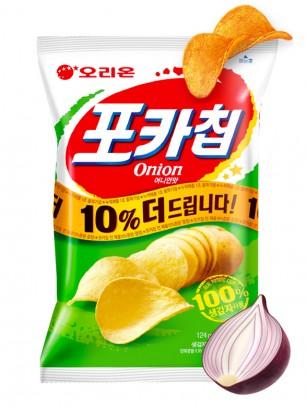Patatas Chips Coreanas sabor a Cebolla 66 grs.