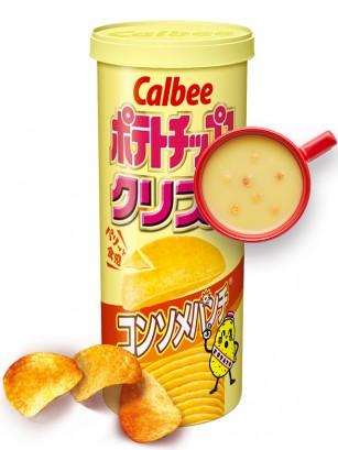 Patatas Crujientes sabor Consomé 115 grs