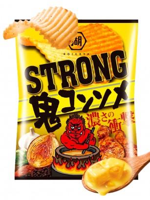 Patatas Fritas Koikeya Strong Demon Consomme 62 grs