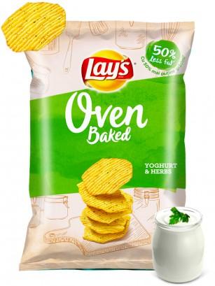 Patatas Lays al Horno de Yogur y Hierbas Aromáticas 125 grs