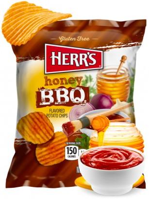 Patatas Onduladas sabor BBQ y Miel | Pocket 28,4 grs.