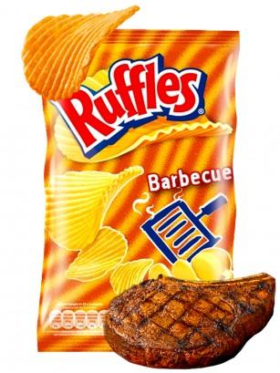 Patatas Fritas Ruffles sabor Barbacoa 23 grs
