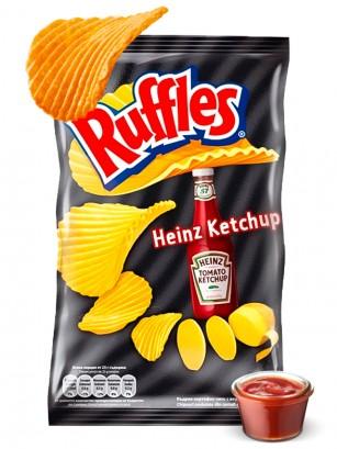 Patatas Fritas Ruffles Ketchup Heinz 30 grs