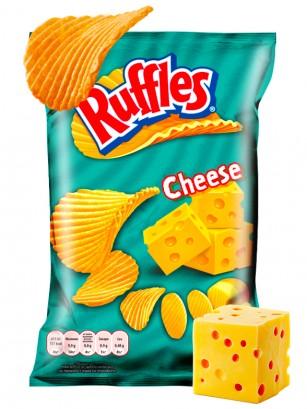 Patatas Fritas Ruffles Sabor Queso 155 grs.