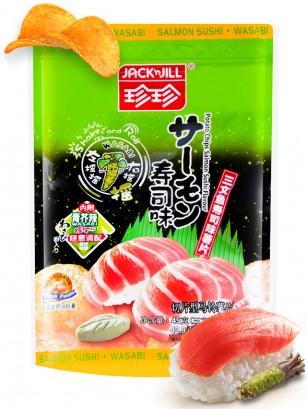 Patatas Chips Sabor Sushi de Salmón con Wasabi | Shake & Roll