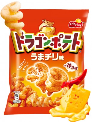 Snack Dragon Patata Asada Sabor Queso y Chili 45 grs.