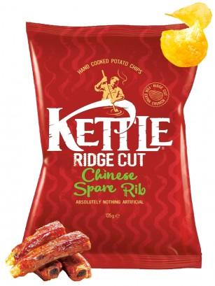 Patatas Kettle con sabor Costilla de Cerdo China 135 grs