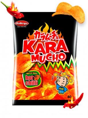 Patatas Kokeiya Kara Mucho Ultra Hot Chilli | Nº1 en Japón 60 grs.