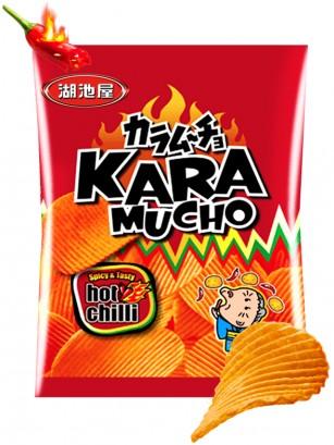 Patatas Onduladas Kokeiya Ultra Hot Chilli | Nº1 en Japón 60 grs.