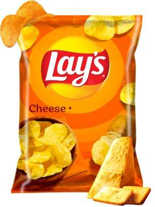 Patatas Lays Sabor a Queso 140 grs
