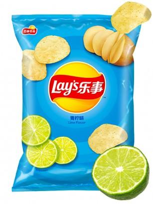 Patatas Lays Sabor Lima | Asia Recipe 70 grs