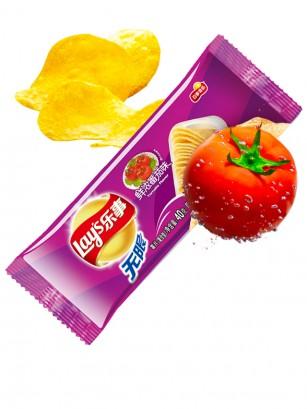 Patatas Lays Sabor Salsa Tomate con Soja | Asia Recipe Pocket 40 grs