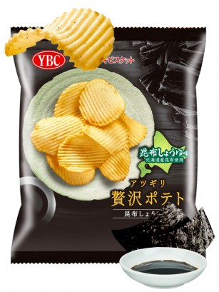 Patatas Onduladas sabor Kombu y Shoyu | Luxury | 55 grs.