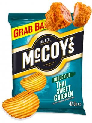 Chips de Patata McCoy's sabor Pollo Dulce Tailandes 65 grs.