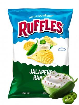 Patatas Ruffles Sabor Salsa Ranchera con Jalapeños 184 grs