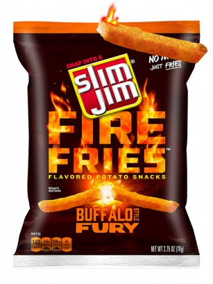 Tiras de Patata Salsa Buffalo Fury 78 grs.