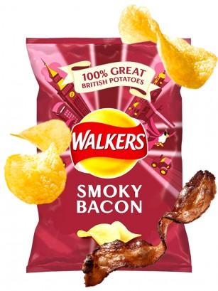 Patatas Fritas Walkers Lays Sabor Bacon Ahumado | Nueva Receta 32 grs