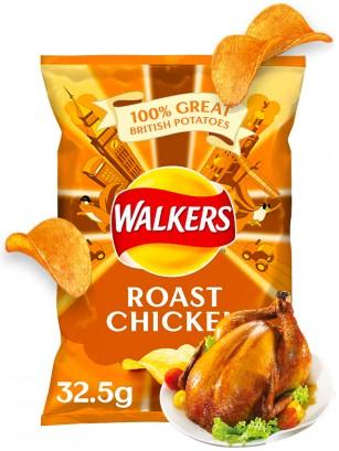 Patatas Fritas Walkers Lays Sabor Pollo Asado | Nueva Receta 32 grs