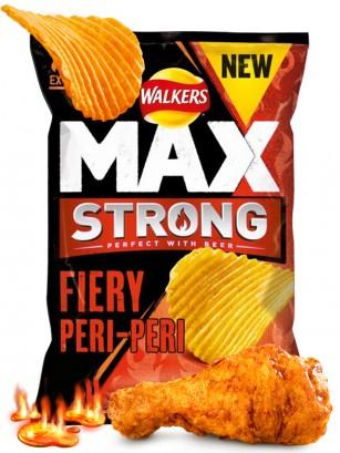 Patatas Fritas Onduladas Walkers MAX Lays Salsa Peri-Peri EXTRA HOT 150 grs.