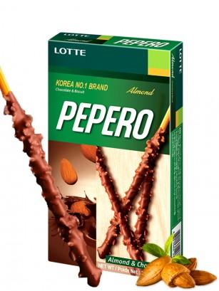Pepero Lotte Chocolate y Almendras 32 grs