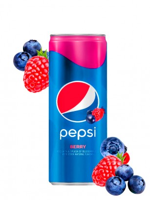 Pepsi Frutos Rojos | USA 355 ml