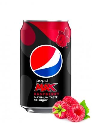 Pepsi MAX Sin Azúcar Frambuesa 330 ml